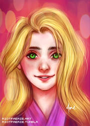 Rapunzel's Glow by riotfaerie