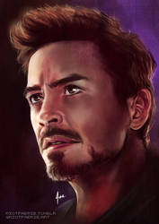 END GAME  [TONY STARK - IRON MAN] by riotfaerie