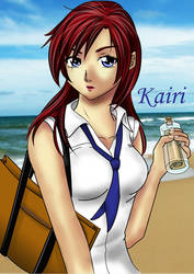 Kairi - 'A letter to You' by riotfaerie