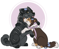 Snuggles by Kannashi