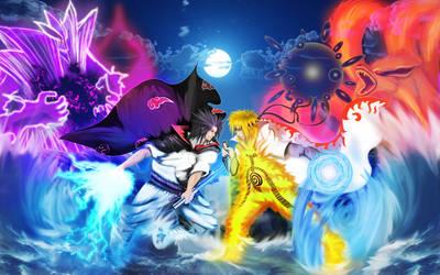 Eternal Rival:Naruto Vs Sasuke by Miyavis