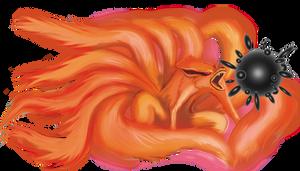 Kurama Kyuubi ninetailed fox