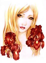 - Belphe - Scarlett Iris - by ooneithoo