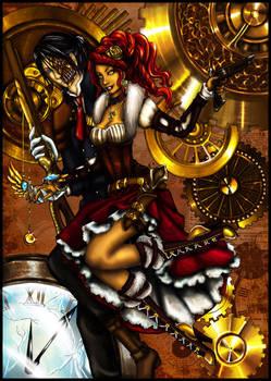 Gabriel x Su - Steampunk -