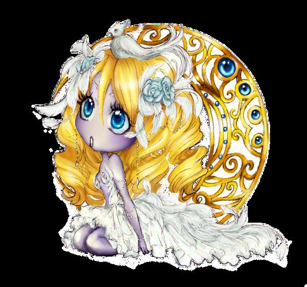 - chibi White Swan - by ooneithoo