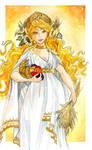 - Demeter - Greek  Goddess of Harvest  -