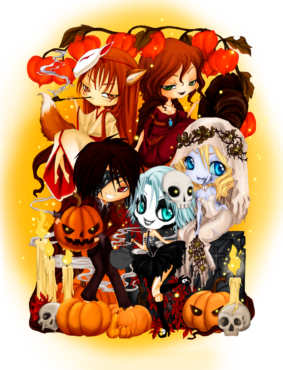 - Happy Halloween - by ooneithoo