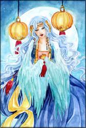 -  Lynette - Full Moon - by ooneithoo