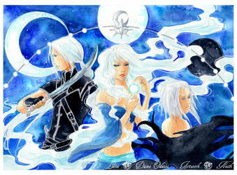 - Gift - Dark Side of the Moon - by ooneithoo