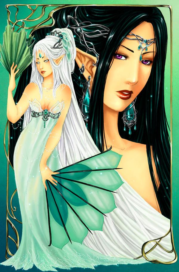 - Niluviel X Nelyaeth - Ladies of Lyorei - by ooneithoo