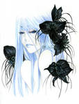 - Accidia with bat Flowers  -