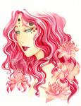 - The Forest Queen - Rose de Porcelaine
