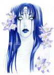- Ildamoon - Blue Aquilegia