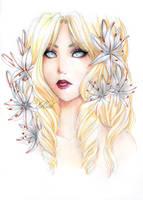 - Krystelle - White Asphodele by ooneithoo