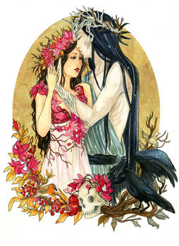 - COMMISSION - Persephone and Hades