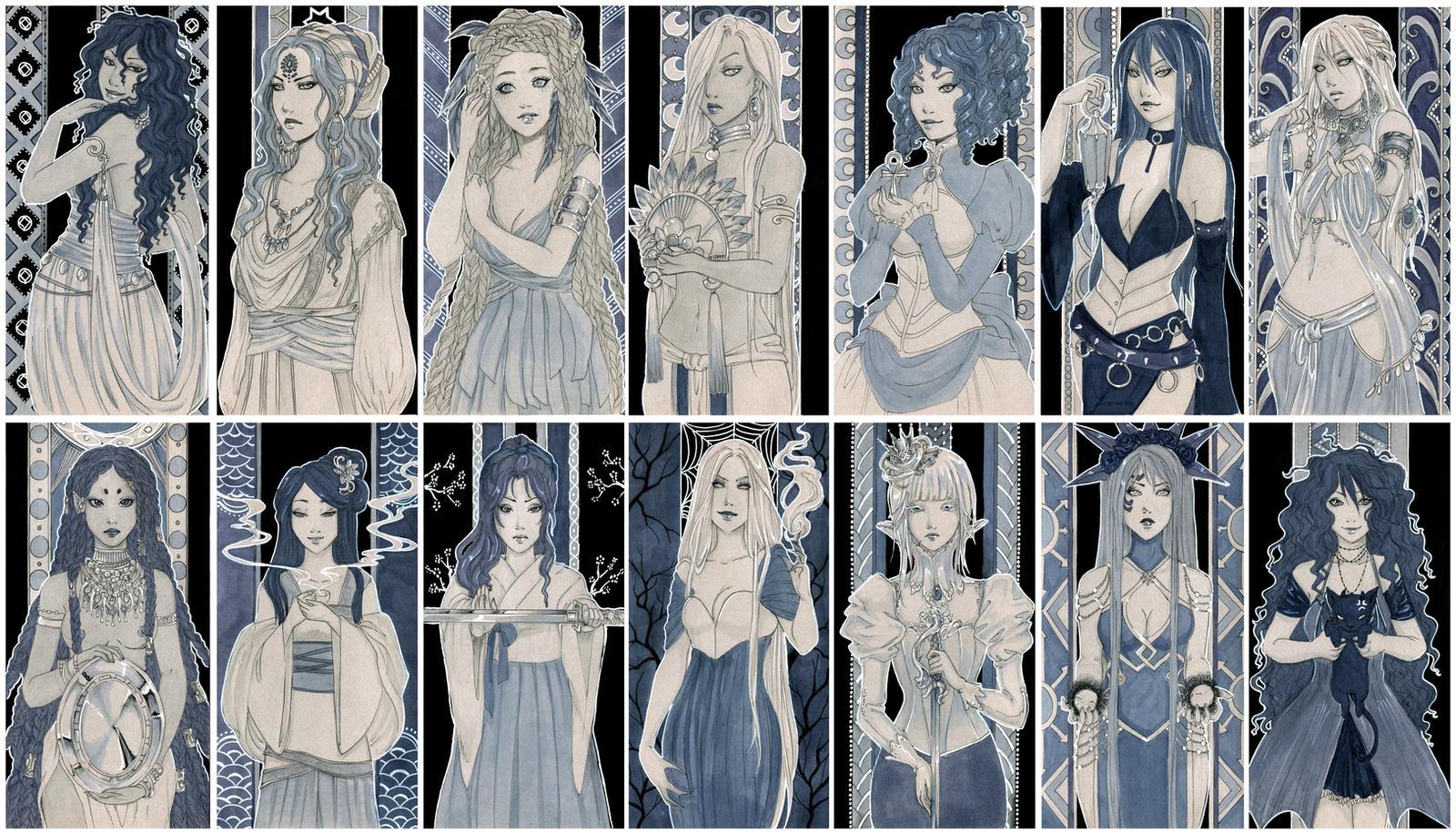 - Ladies in Grey - by ooneithoo