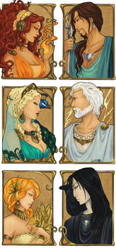 - Greek Gods I - by ooneithoo