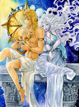 - Apollo and Artemis -