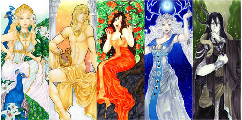 - Agape - Greek Gods Art nouveau -