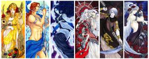 - Agape - Greek Gods Art Nouveau III -