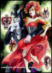 - Dia de los Muertos - by ooneithoo