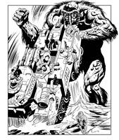 Man Thing 6 by kevhopgood