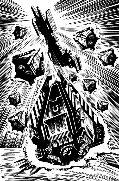 Warhammer 40K 05 by kevhopgood