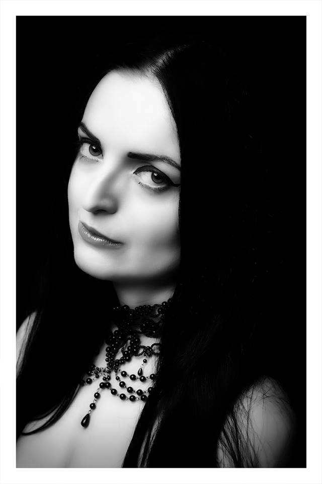 Black and White Portrait by jezabelle616