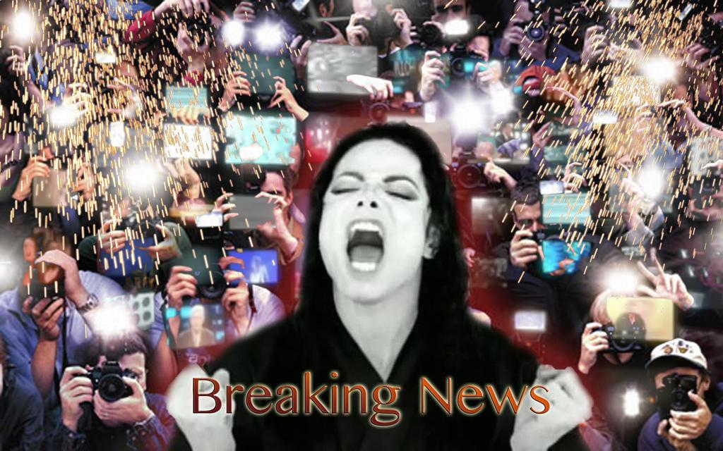 Michael Jackson s Breaking News Teaser