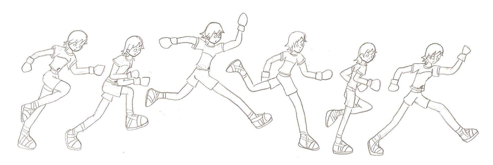 Running animation frames by Toxicated-kisame52 on DeviantArt