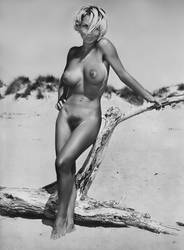 Outdoor Nude, Early 1970's by NJDVINTAGE