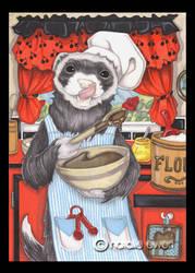 Chef Ferret by natamon
