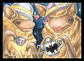 Bats In Hats by natamon