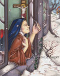 Saint Therese And The Snow