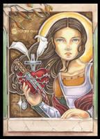 Saint Maria Goretti by natamon