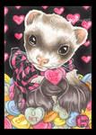 Valentine's Day Candy Ferret