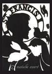 Saint Francis Silhouette