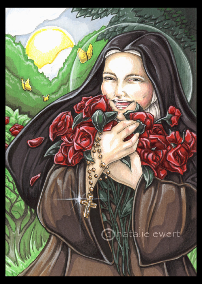 Laughing Saint Therese