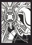 Saint Clare Silhouette