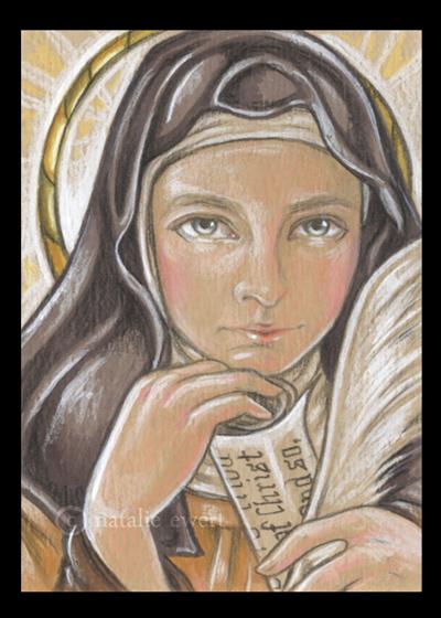 Saint Theresa of Avila by natamon