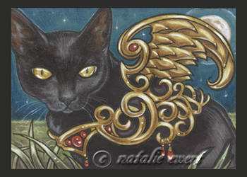 Bejeweled Cat 26 by natamon