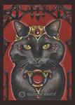 Bejeweled Cat 39