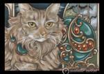 Bejeweled Cat 42