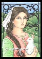 Saint Joan of Arc by natamon
