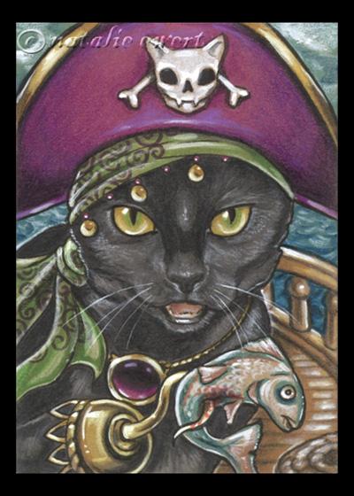Pirate Cats 2 by natamon