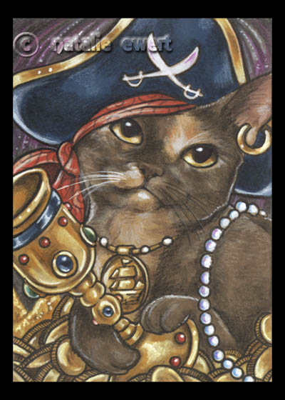 Pirate Cat 6 by natamon