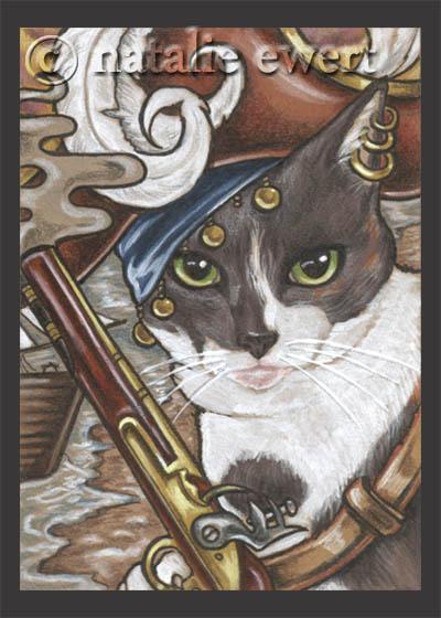 Pirate Cat 7 by natamon