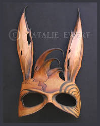 The Mind of the March Hare Mask by natamon