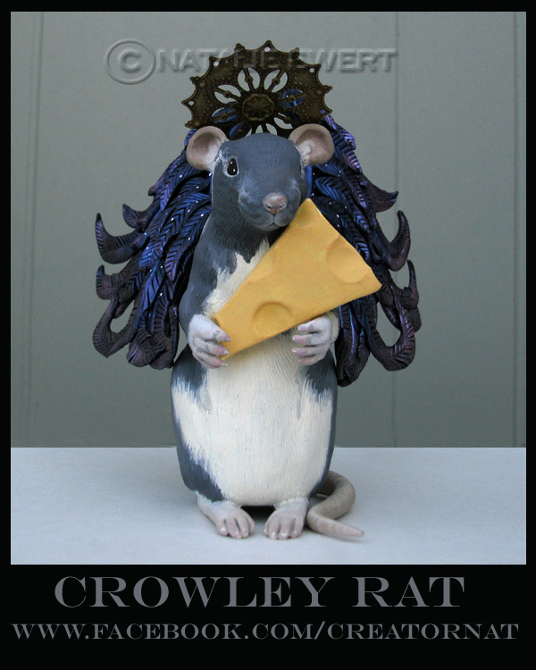 Crowley the Ratty Angel Sculpt by natamon
