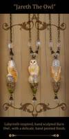 Jareth The Owl Necklace